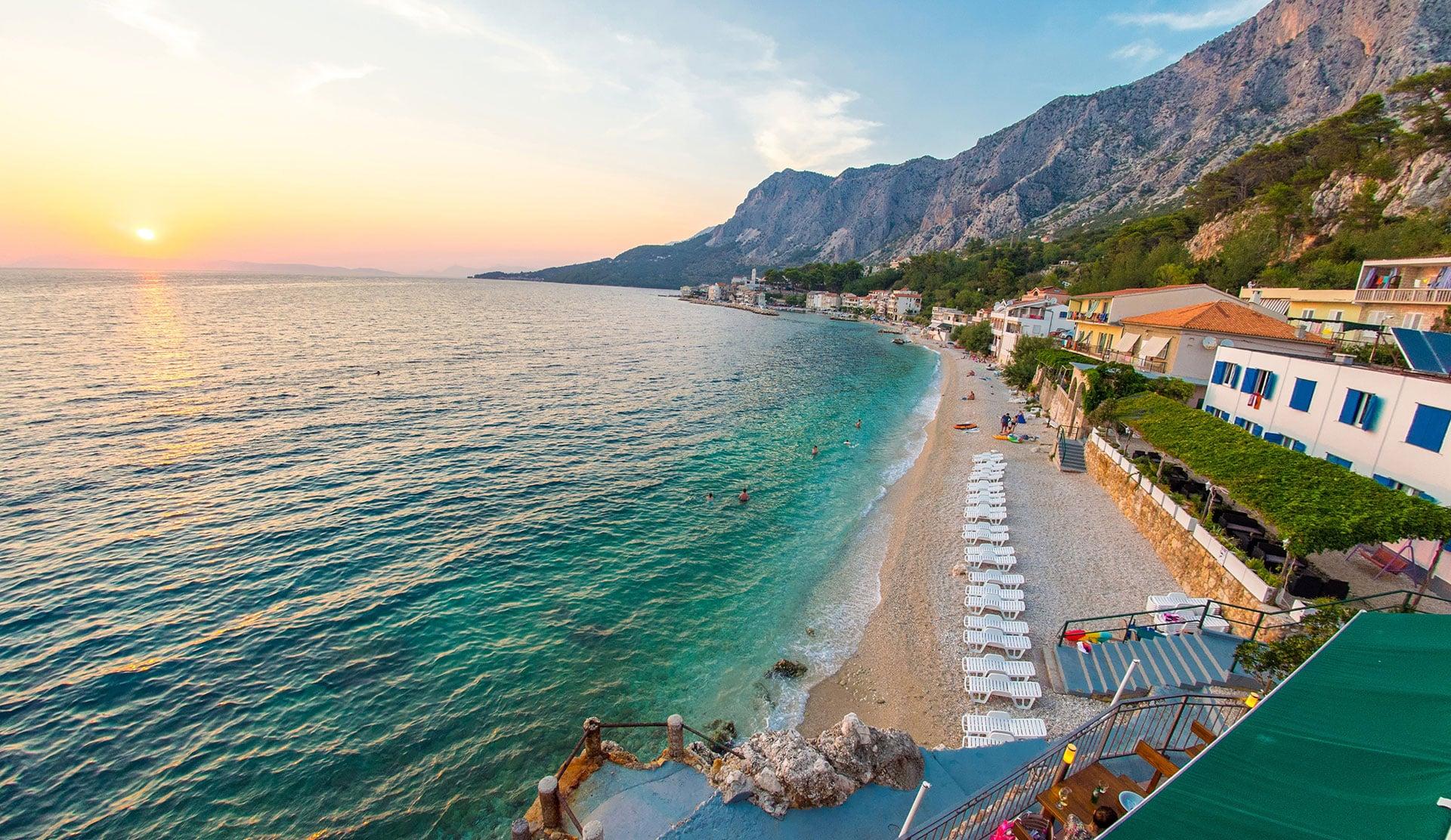 Beach Hotel Croatia Plaža Dra Nice