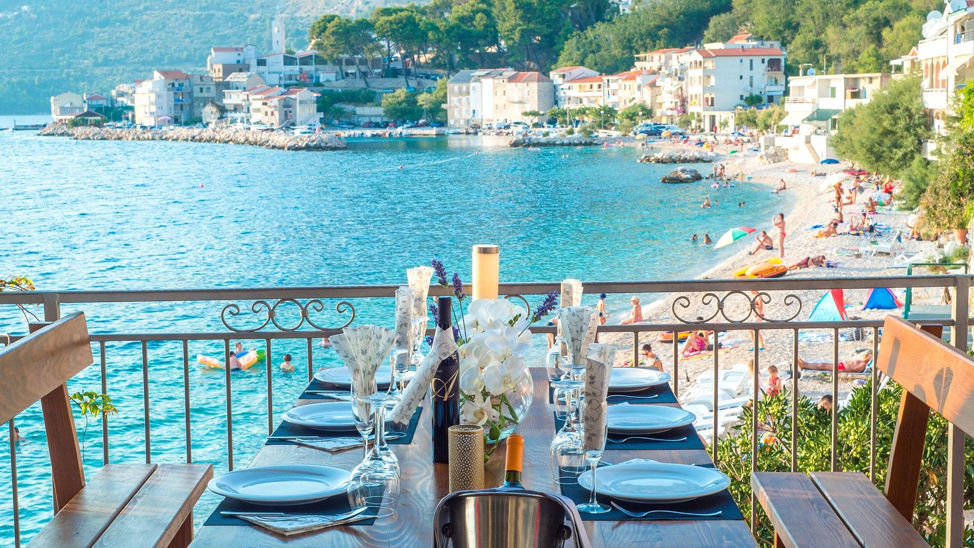 Restaurant - Beach Hotel Croatia